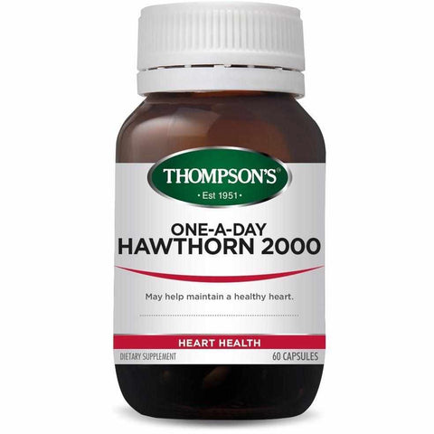 Thompson's One-a-day Hawthorn 2000 60 Capsules