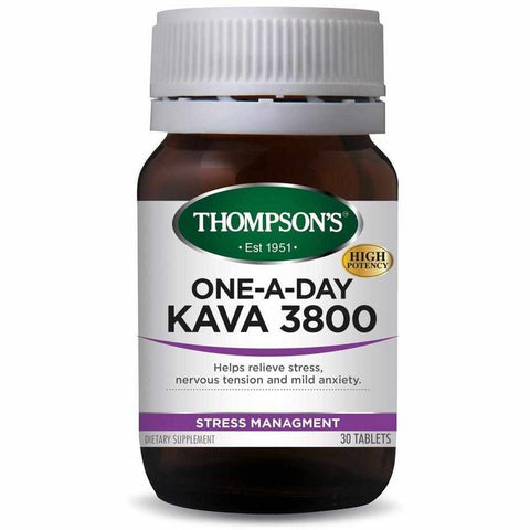 Thompson's One-a-day Kava 3800 30 Tablets