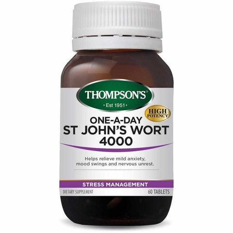 Thompson's One-a-day St John's Wort 4000 60 Tablets