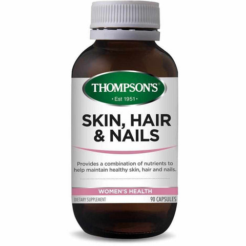 Thompson's Skin Hair & Nails 90 Capsules