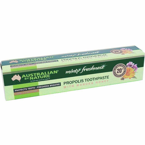 Australian by Nature Propolis Toothpaste with Manuka Honey 20+ (MGO 800) 100g