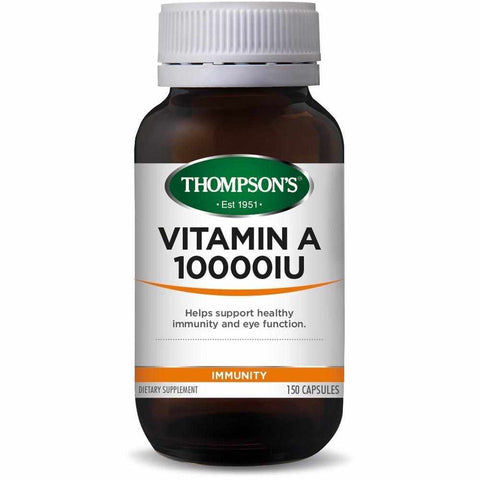 Thompson's Vitamin A 10000IU 150 Capsules