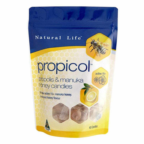 Natural Life Propicol Propolis & Manuka Honey 40 Candies