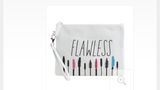 Canvas Cosmetic Bag