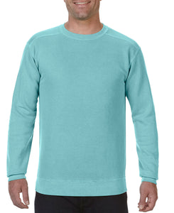 Comfort Color Sweatshirt Chalky Mint