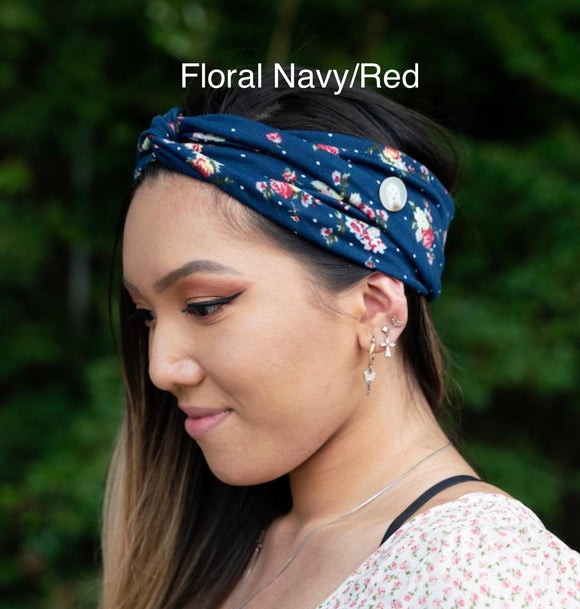 Save the Ears Headbands- Floral Set 1