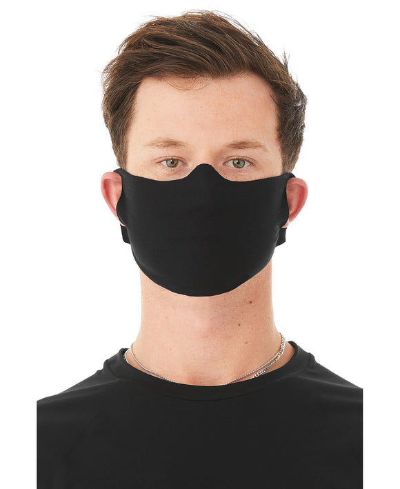Bella Canvas Black Mask