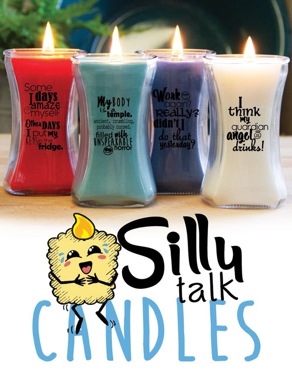 Silly Talk Candle-Life Status