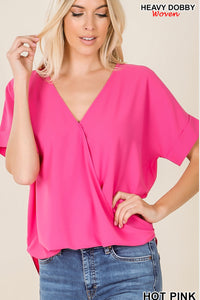 Air Flow Top - Hot Pink