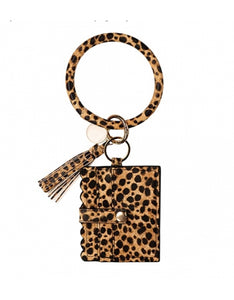 Bangle Keychain Card Holder