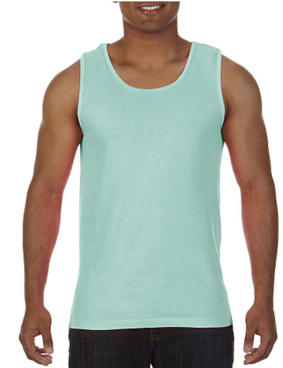 Comfort Color Tank Island Reef