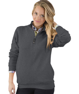 Charles River 1/4 Zip Pullover - Charcoal