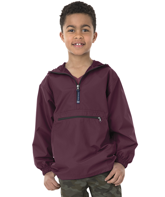 Charles River Youth Pack N Go-Maroon
