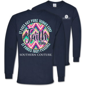 Southern Couture Faith Makes Possible LS
