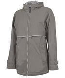 Charles River Rain Jacket - Grey