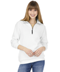 Charles River 1/4 Zip Pullover - White