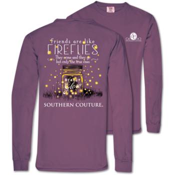 Southern Couture Friends Like Fireflies COMFORT COLOR LS