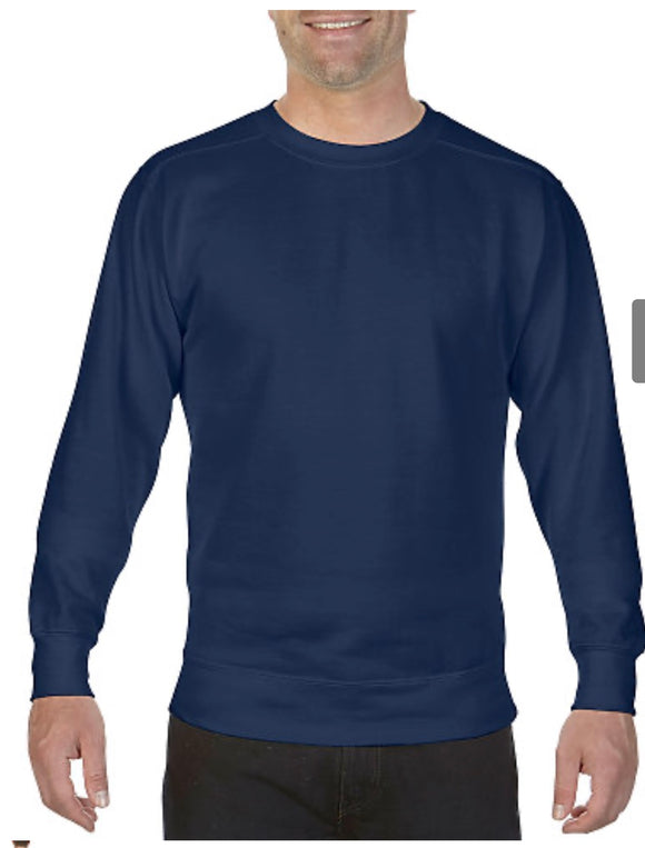 Comfort Color Sweatshirt True Navy