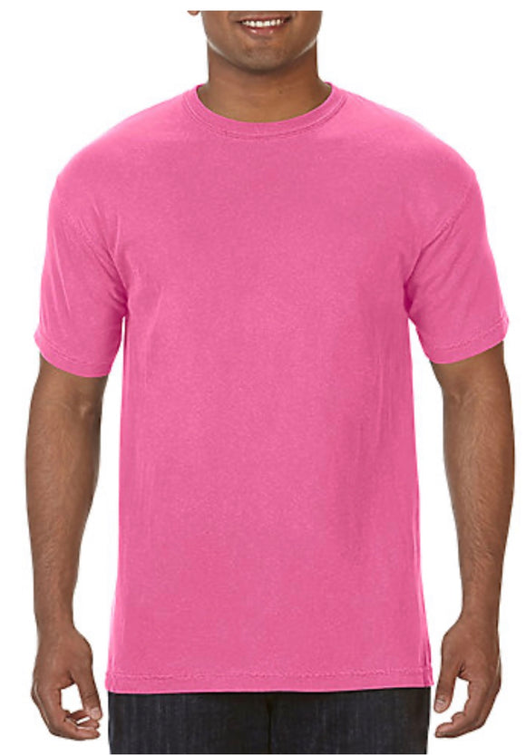 Comfort Color T-shirt Crunchberry No Pocket