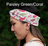 Save the ears headbands-Paisley