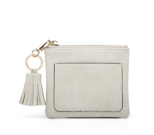 Coin Purse with Tassel