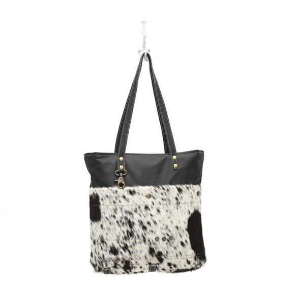 Black Shades Hairon Tote Bag