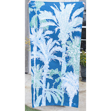 TRS Havana Beach Towel Royal/Parakeet