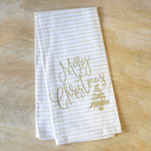 Black Friday TRS Christmas Tea Towels
