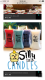 Silly Talk Candle-Angel