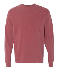 Comfort Color Long Sleeve No Pocket