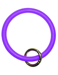 Silicone bangle keyring