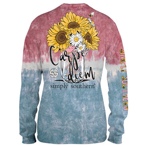Simply Southern Burst Sunflower Shirt