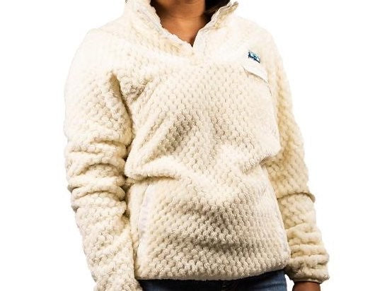 Simply Southern Cream Sherpa Size S