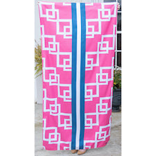 TRS Mariana Beach Towel Hot Pink/Royal