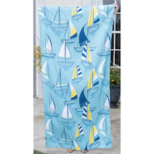 TRS Newport Beach Towel Sky/Royal