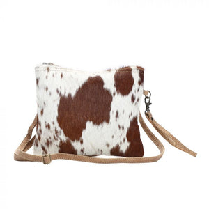 White Brown Shade Bag