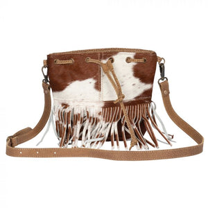 Funky Fringe Hairon Small Crossbody
