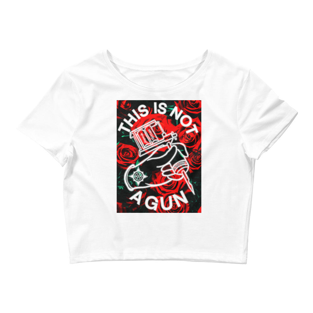 This Is Not A Gun - Crop Tee