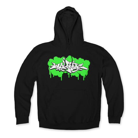 "Wolfpac ""Green Paint Front"" Hoodie"