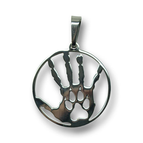 "Wolfpac ""Hand and Paw"" Charm"