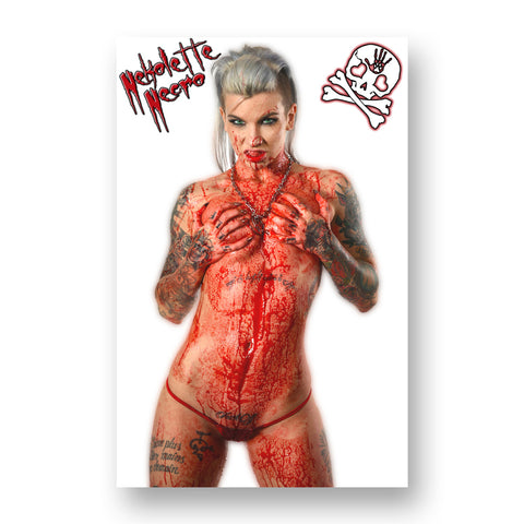 "Wolfpac ""Necro Bloody Babe #1"" Poster"