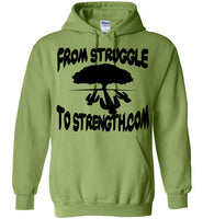 From Struggle To Strength Kiwi Deep Roots Hoodie