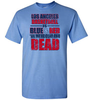 Los Angeles Basketball (Blue & Red till we're cold and dead.)