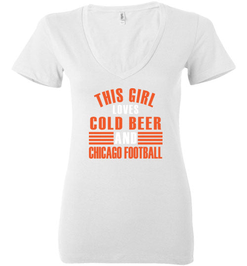 This Girl Loves Cold Beer/Chicago Football