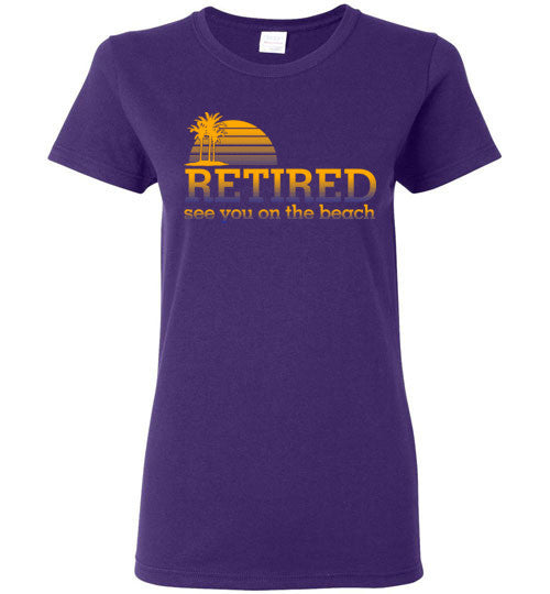 Retired Women's T-Shirt.