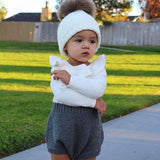 Knitted Baby Romper, Rompers, Baby Terry, Baby Terry