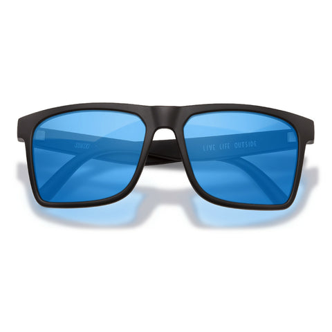Sunski Taravals Black Aqua Sunglasses - The Offroader