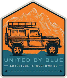 United By Blue Adventure Mobile Patch - The Offroader