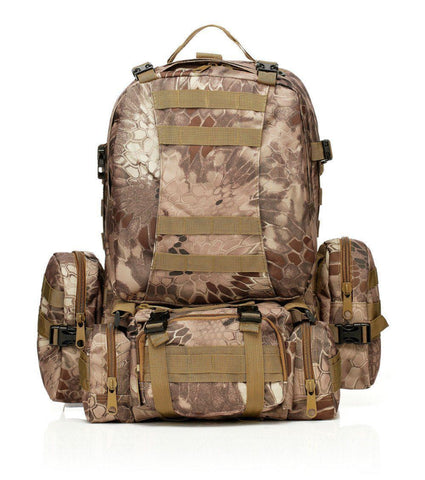 55L Vintage Military Weekend Assault Pack - The Offroader