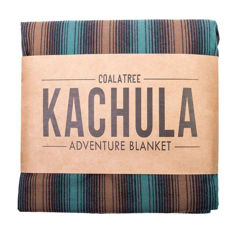 Coalatree Green Stripe V2 Kachula Adventure Blanket - The Offroader